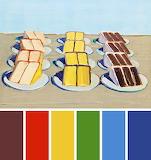 Cake Rows by Wayne Thiebaud