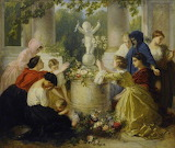 A Sacrifice to Cupid by Gustave de Beaumont