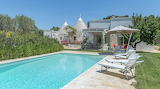 Traditional luxury villa and pool in Puglia, Italy