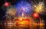 New year 4 fireworks