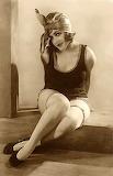 Vintage Flapper Girl Pin-up Poster 02