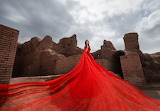 Red Dress & Ancient Ruins