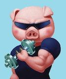 #Piggy Bicep King