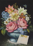 Art Dutch Flowers by Lynn Bywaters