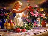 the flower girl-