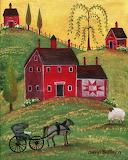 ^ Country Homestead ~ Cheryl Bartley