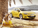 yellow car, girl