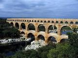 Roman Aqueduct Pont du Gard Oct 2007