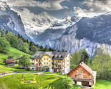 Swiss Alps View