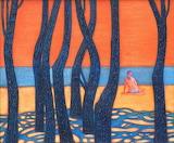 Abisalov Yuri, Lonely swimmer, 2006