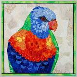 Lorikeet quilt