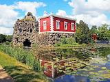 Various 859 red lakehouse Worlitz