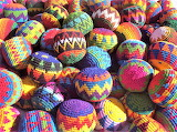 hackey-sack balls