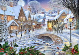 Winter-village-stream