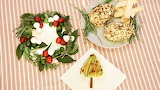 ^ Christmas cheese appetizers