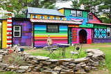 Psychedelic House Photo by katwise