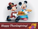 Mickey & Minnie Thanksgiving