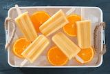 Sweets Ice cream Orange 496166 (2)