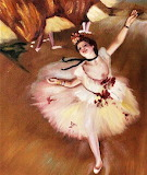 Star Dancer by Edgar Degas