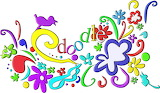 Colourful doodle