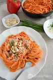 Spaghetti con salsa