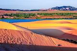 Colourful Sand Dunes