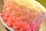 Ombre cake @ CakeMama Cakes