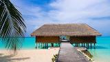 luxury tropical beach villa by ocean