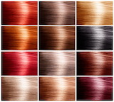 hair colours..............................x