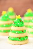 #Christmas Tree Cookie Stacks