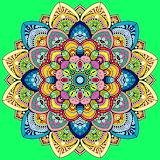 Mandala Verd - Green Mandala