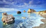 Cyprus Rocky Sea Shore
