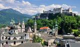 Village of Linz Austria