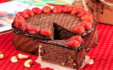 #Chocolate Heart Cake