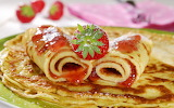 ^ Strawberry Crepes