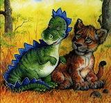 Крюкова Т. Динозаврик ищет маму*