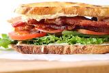 ^ Gourmet Bacon Lettuce Tomato Sandwich