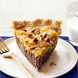 ^ Coconut Pecan German Chocolate Pie