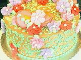 Flowery cake @ Sugar & Company