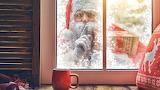 Santa claus window