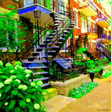 Montreal staircases - Carol Spandau