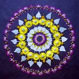 Flower mandala, sonoran-desert-wildflowers, Kathy Klein
