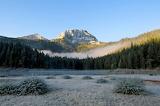 Morning mist Durmitor Park Montenegro