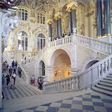 Main Staircase at the Hermitage, Russia