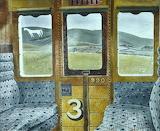 "Landscape art tumblr dogstardreaming ""Train Landscape"" 1939 ""Eri"