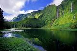 Lagoa dos Patos. Flores Island. Azores