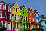☺♥ Colorful houses...