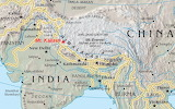 Mt. Kailash - location
