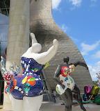 Bilbao - Niki de Saint Phalle Sculptures
