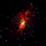 Supernova SN20114J Explodes, Chandra